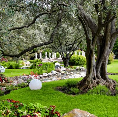 Mit Feng Shui im Garten kannst Du Dich wohlfühlen, Entspannen und Kraft tanken.